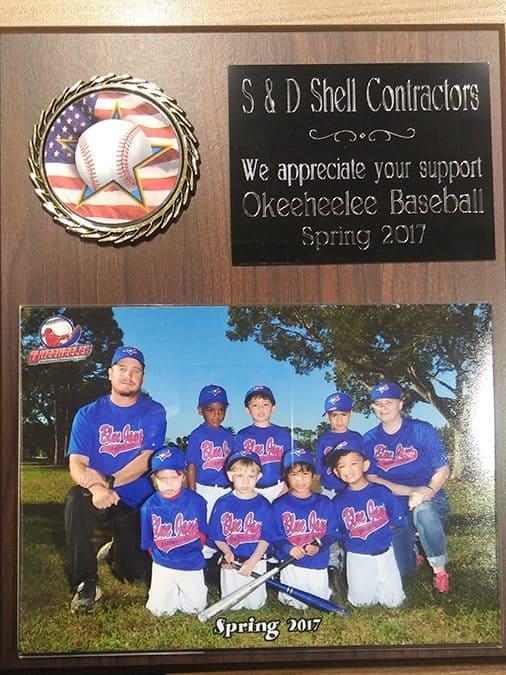 S&D Sponsorship 2017 Blue Jays Baseball Team